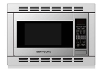 Microwave Oven; 1.2 Cubic Foot Capacity; 1000 Watts Cooking Power/ 1150 Watts Input Power; 14 Inch Height x 20-1/2 Inch Width x 18-1/2 Inch Depth; With 12-1/2 Inch Glass Turntable; With Trim Kit; Conventional; Built-In; Stainless Steel; 120 Volt AC; 12.5