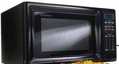 Dometic Counter Top Built In Microwave Black