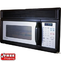 Dometic Over the Range 1.7cu Feet Black Microwave