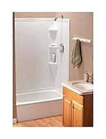 RV BATHTUB  36 X 24  LHC  DRAIN  WHITE