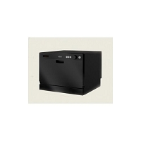 RV Vesta Dishwasher, CounterTop, Black, DWV322CB