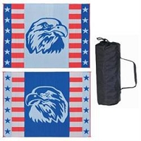Ming's Mark American Eagle RV Patio Mat 9'x12'