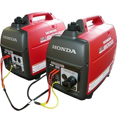 Hook up 2 generators parallel