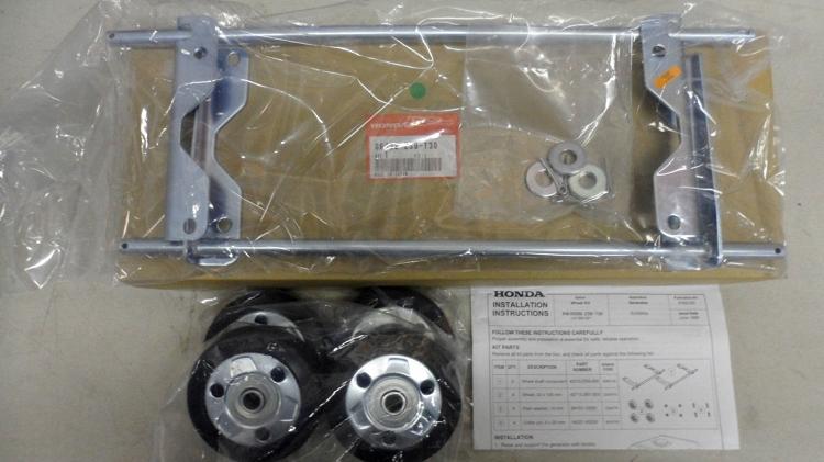 Yamaha 3000 Generator >> Honda EU3000 Generator 4-Wheel Kit