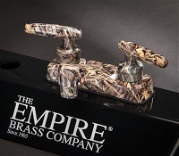 Empire Brass Weeds And Reeds Camouflage Faucet