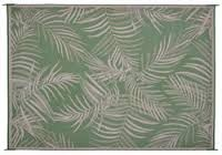 Medallion Fern Patio Mat 8X11
