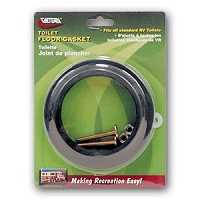 Valterra Water Saver RV Toilet Floor Gasket With Hold Down -Universal