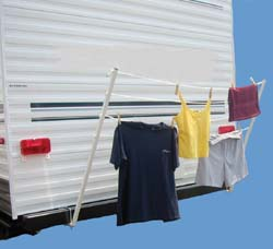 Rv Detachable Rv Clothesline