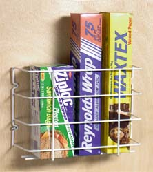 Wrap Rack &  Basket