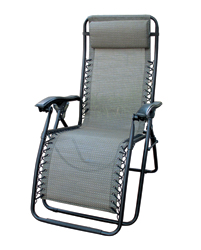 Camping Lounge Chair- Del Mar- Golden Harvest