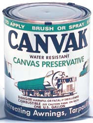 Canvas Preservative 1 gallon can
