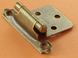 Self-closing RV Hinges Antique Brass
