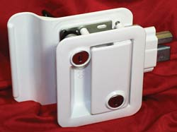 trimark style door lock,White RV Door Lock,travel trailer lock set