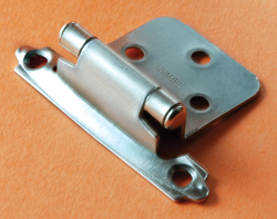 Self-Closing Nickel Finish RV Hinge