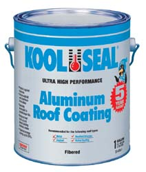 RV Aluminum Roof Coating-1 Gallon-Ultra High Performance