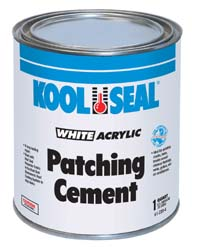 White Patching Cement, 1 Gallon