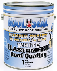 Rv Roof Coating- 1 Gallon- Elastomeric- White