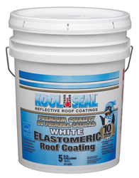 Rv Roof Coating- 5 Gallon- Elastomeric -White