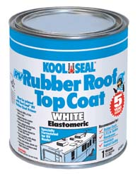 RV Rubber Roof Top Coat -1 Quart