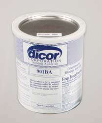Rv Rubber Rf Sys. EPDM Water Based Adh. 1 Gallon
