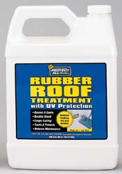 Rubber Roof Treatment 1 Gallon