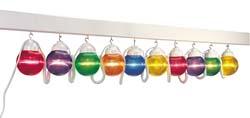 RV Globe Light Multi Color 10 Pack
