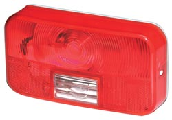 Rv Tail Light Lens -Lens for #92 Series Surface Mount