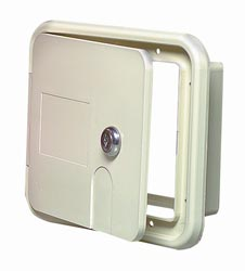 Locking RV Electrical Hatch PW