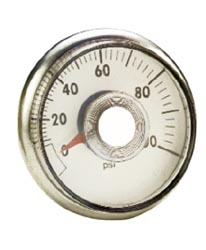Marshall Products Rv Water Pressure,  Gauge Only