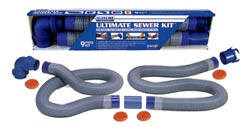 Camper Sewer Drain Hose Kit, Blueline RV Sanitation-20'