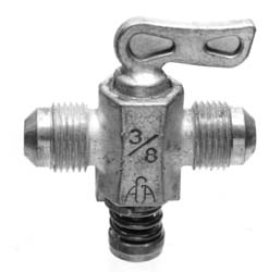 Anderson Fittings Shut Off Cock, 1/2""