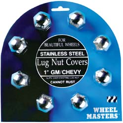 Lug Nut Covers - GM/Chevy 1