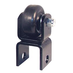 Hitch Protector Skid Wheel