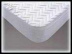 RV Bedliner Short Queen Fitted White