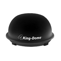 King-Dome Automatic Roof Mount RV Satellite Black