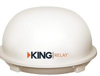 King-Dome Automatic Roof Mount RV Satellite