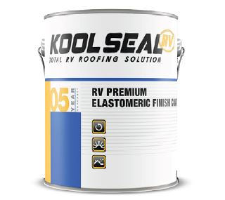 Roof Coating Use To Protect Rv Roof Reflects Heat And