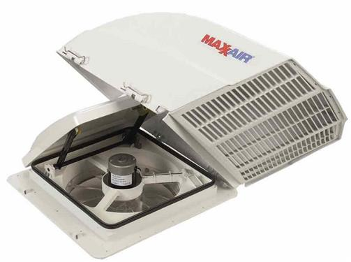 Fan Mate Power Vent Cover Model 800 White Rv Parts Country