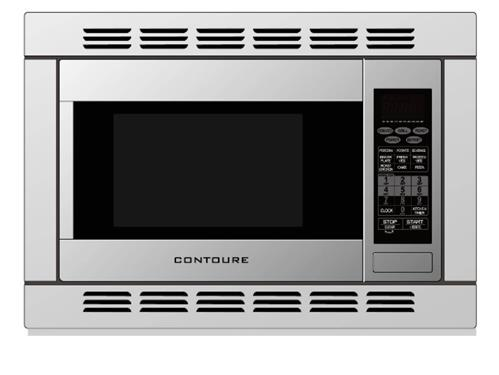 Microwave Oven 1 2 Cubic Foot Capacity 1000 Watts