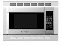 Microwave Oven 1.2 Cubic Foot Capacity Silver