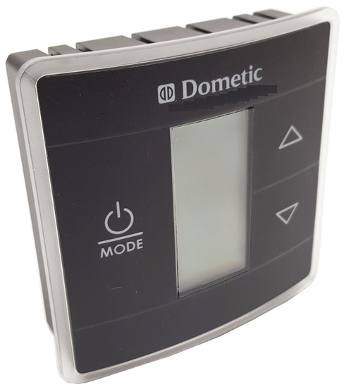 Upgraded Dometic Single Zone Rv Ac Thermostat Black