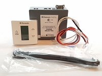 Dometic 3316230.000 LCD Touch Thermostat with Control Kit Polar White