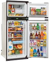 NX841 Gas Refrigerator, 2-Way, Blk, RH