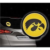 Lighted Iowa Powerdecal