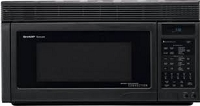 1.1 Cubic Feet Convection Microwave Black