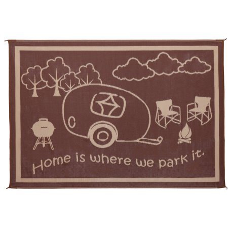 Ming S Mark Quot Home Is Where We Park It Quot 8x18 Rug