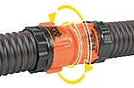Camper Sewer Hose Swivel Coupler-RhinoFlex