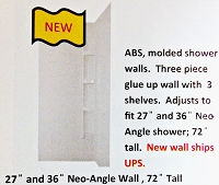3PC ADJ WALL NEO-ANGLE PARCH