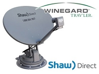 Winegard Traveler Shaw Direct RV Satellite Mount