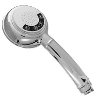Hand-Held Bluetooth Music Shower Head With Removable Speaker